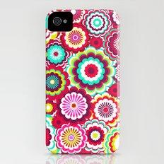 Bright Flower Dash iPhone (4, 4s) Slim Case