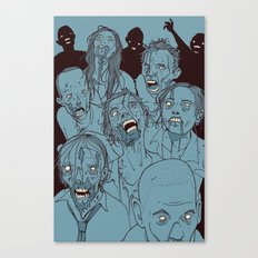Everyone you know is dead Canvas Print