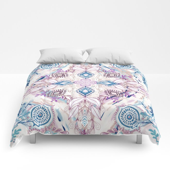 Wonderland in Winter Comforters
