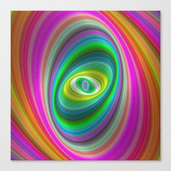 Elliptical magic Canvas Print