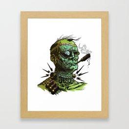 FRANKENJEBUS Framed Art Print