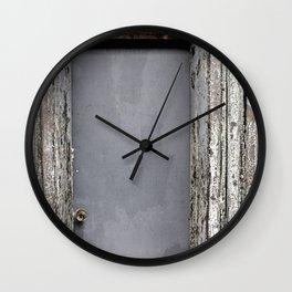 Natural Beatdown Wall Clock