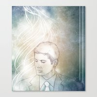 dean winchester Canvas Prints featuring Dean Winchester by quarender