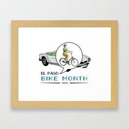 Classic Rider Framed Art Print