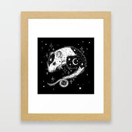 the Witch's Companion Framed Art Print