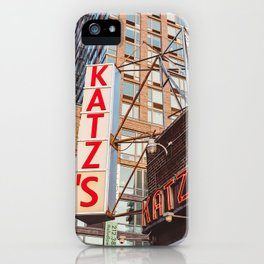 Katz iPhone Case