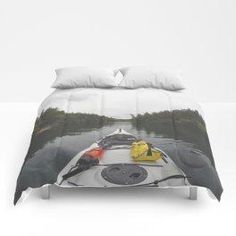 Live the Kayak Life Comforters