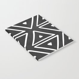 Big Triangles in Black and White Notebook