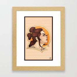 Rey: The Scavenger Framed Art Print