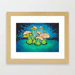 shroomery Framed Art Print