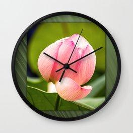 Lotus dream/Lotustraum Wall Clock