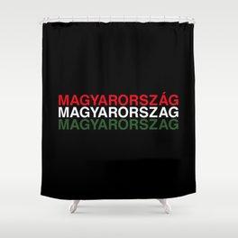 HUNGARY Shower Curtain