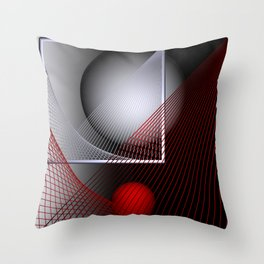 games with geometry -136- Throw Pillow