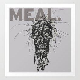 Last Meal Art Print