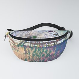 Santa Monica Pier - Art Fanny Pack