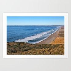 Point Reyes Coastal Scenery Art Print