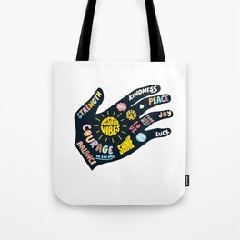 Positivity – Helping Hand Tote Bag