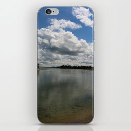 Yellowstone Lake View iPhone Skin