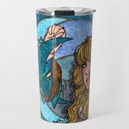 Turquoise Moon Travel Mug