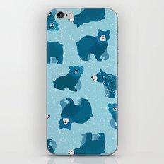 Snow Bears iPhone Skin