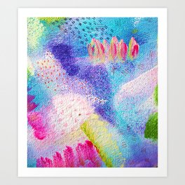 Abstract expressions Art Print