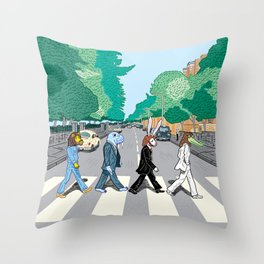 The Walrus Was Paul Throw Pillow