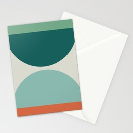 Abstract Geometric 20 Stationery Cards