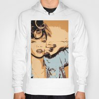 rihanna Hoodies featuring Rihanna  by GOLDY