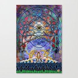 Space Shiva Canvas Print