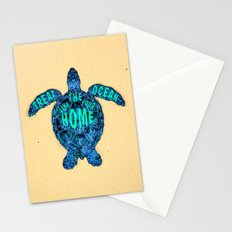 ocean omega Stationery Cards