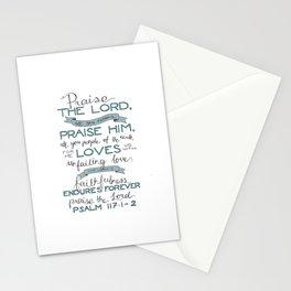 Psalm 117: 1-2 Stationery Cards