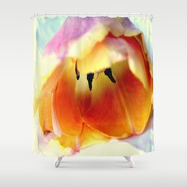 Prone To Love This Tulip Shower Curtain