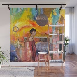 Living in Illusion Wall Mural