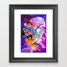 Super Steven Bros. Framed Art Print