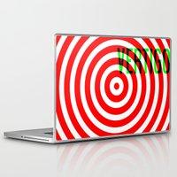 vertigo Laptop & iPad Skins featuring VERTIGO by Brian Walker