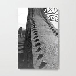 Boston University Bridge Metal Print