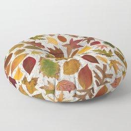 Autumn Leaves Speckle Floor Pillow