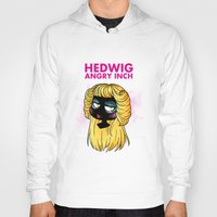 hedwig Hoodies featuring Hedwig and the Angry Inch by Sunshunes