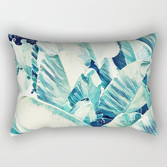 Banana Leaf Crush #society6 #decor #buyart Rectangular Pillow