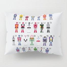Transformers Alphabet Pillow Sham