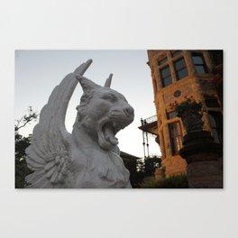 Gargoyle Roar Canvas Print