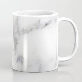 Realistic white faux marble no18 Coffee Mug