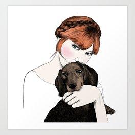 Emily and Arthur Miller Art Print
