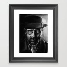 Bryan Cranston Framed Art Print