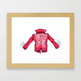 Love Is A Battlefield (Part 1) Framed Art Print