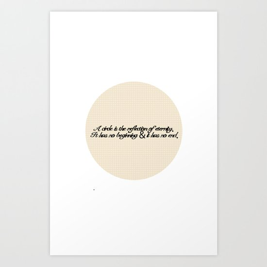 Circle Design I {Circle Week} Art Print