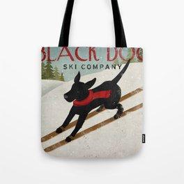 Black Dog Ski Co. Tote Bag