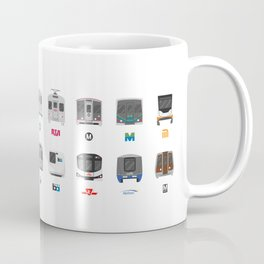 Subway Icons Coffee Mug