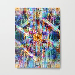 Function result, amalgamation, miscellaneous excerpt. Metal Print