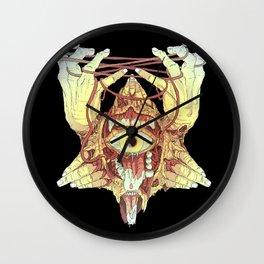gold eye Wall Clock